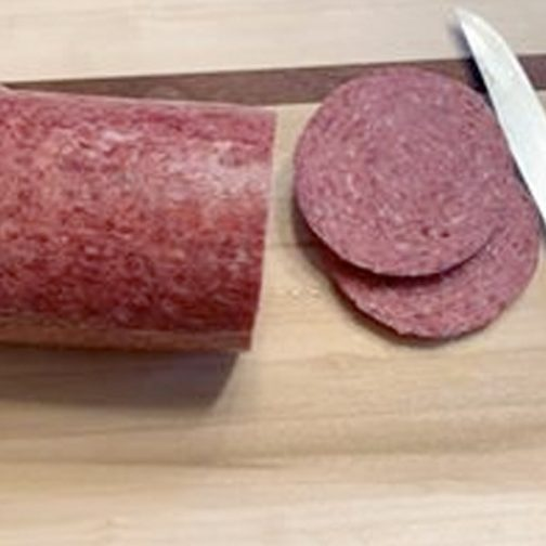3 1/2 lb Roll of Beef Sweet Bologna 1